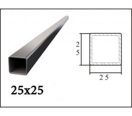 Труба профильная 25*25*1,5 мм (6 м)
