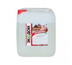 Состав огнебиозащитный 10 кг ЭКОДОМ