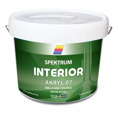 Краска СПЕКТРУМ Interior  07 10л