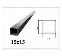 Труба профильная 15*15*1,5 мм (6 м)