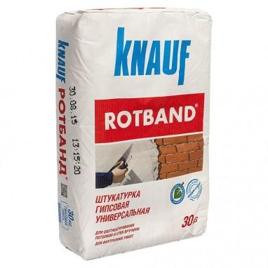 Штукатурка ROTBAND гипсовая универсальная 30 кг