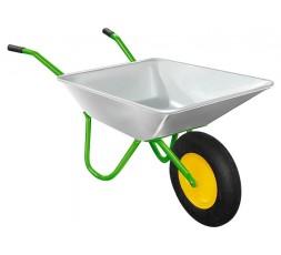 Тачка садовая оцинк. 90 кг/65 кг