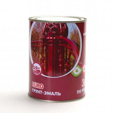 Грунт-эмаль 3в1 шоколад 0,9 л