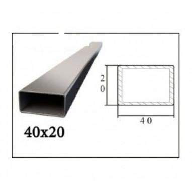 Труба профильная 40*20*2 мм (6 м)