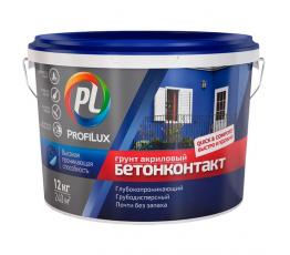 """Грунтовка акриловая """"Бетон-Контакт"""" ProfiLux 12 кг"""