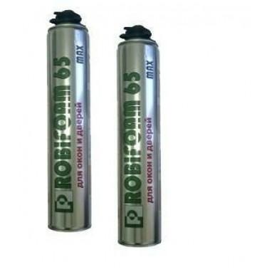 Пена профессиональная полиуретановая ROBIFOAM MAX 65 литров