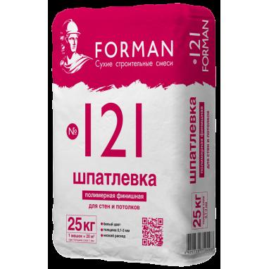 Шпатлевка полимерная FORMAN 25 кг