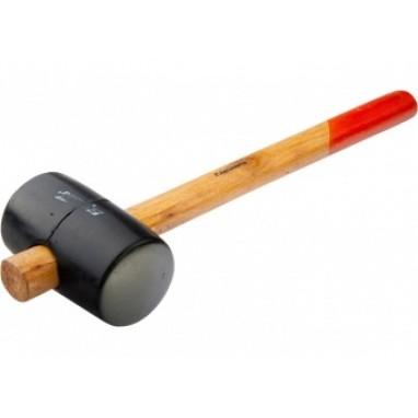 Киянка резиновая деревянная ручка 450гр