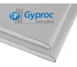Гипсокартон сухой Gyproc 1,2*2,5 (12,5 мм)
