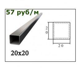 Труба профильная 20*20*2 мм (6 м)