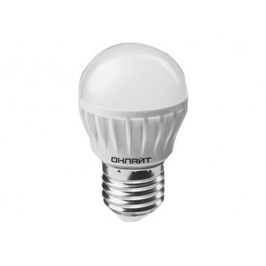 Лампа LED светодиодная 8 Вт Е27 матовый шар