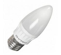 Лампа LED светодиодная 8 Вт Е27 матовая свеча