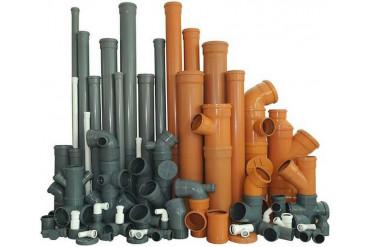 Трубы и фитинги канализации