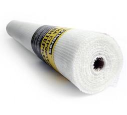 Сетка строительная 1000мм х 50м Интерьерная штукатурная белая 5х5 Fiberon