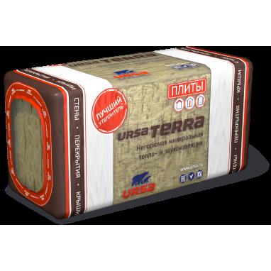 Минвата URSA TERRA 36PN 1250*610*100 ( 3.81м2 )