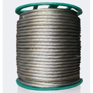 Трос стальной в оплетке ПВХ 4/5мм