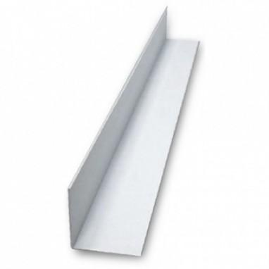 Угол ПВХ 25х25 мм 2,7 м белый